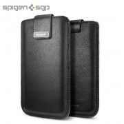 SGP Crumena Leather Pouch dėklas iPhone 5 - Juodas