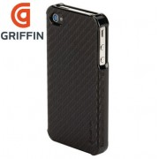 Griffin Elan Form Graphite dėklas iPhone 4/4S - Juodas